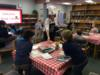 WDE Students Experience a Book Tasting
